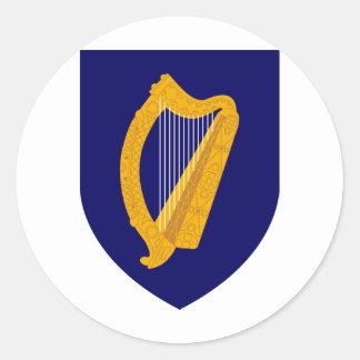 Ireland Coat Of Arms Sticker