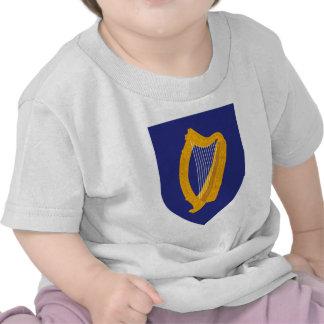 Ireland coat of arms tee shirt
