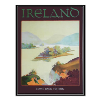 Ireland, Come back to Erin Print