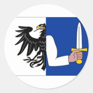 Ireland Connacht Flag Stickers