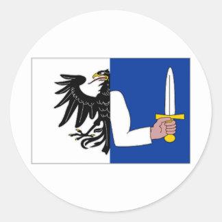 Ireland Connacht Flag Sticker