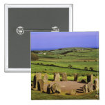 Ireland, County Cork. The Dromberg Stone Pinback Button