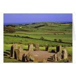 Ireland, County Cork. The Dromberg Stone Cards