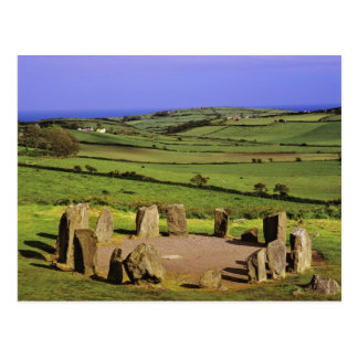 Ireland, County Cork. The Dromberg Stone Postcard