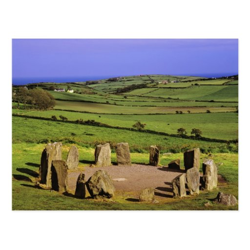 Ireland, County Cork. The Dromberg Stone Postcard