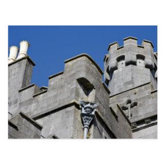 Ireland, County Kilkenny, medieval castle. Postcard