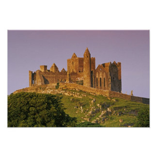 Ireland, County Tipperary. View of the Rock of 2 Poster