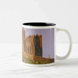 Ireland, County Tipperary. View of the Rock of 2 Two-Tone Coffee Mug