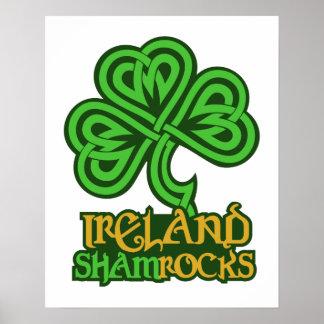 Ireland custom poster