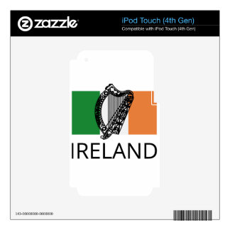 ireland decals for iPod touch 4G