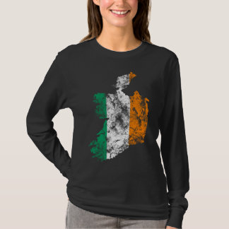 Ireland Distressed shirt