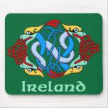 Ireland - Dragon Knot Mouse Pad