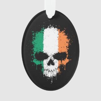 Ireland Dripping Splatter Skull