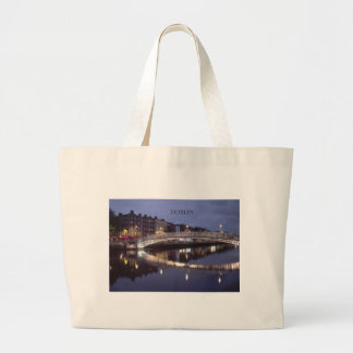 Ireland Dublin Bridge night (St.K) Tote Bag