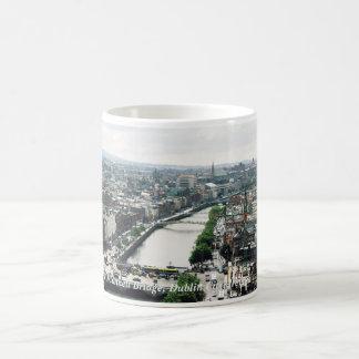 Ireland - Dublin city skyline & O'Connell Bridge Coffee Mug