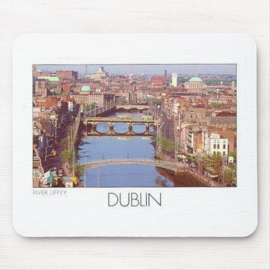 Ireland Dublin River Liffey (St.K.) Mouse Pad