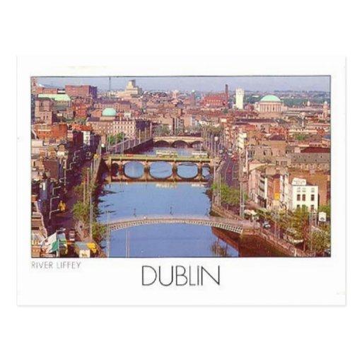 Ireland Dublin River Liffey (St.K.) Post Cards