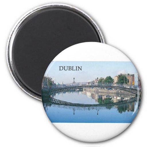 Ireland Dublin (St.K.) Refrigerator Magnet