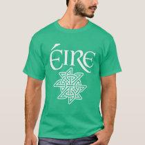 Ireland Éire Decorative Celtic Knot Irish Gaelic T-Shirt