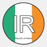 Ireland Eire Euro Sticker