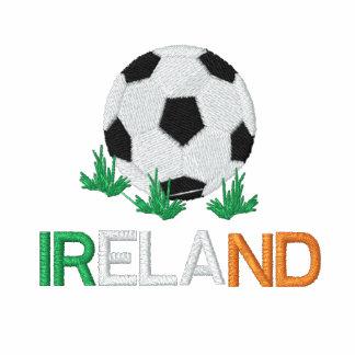 IRELAND Eire Ladies Embroidered Soccer Jogger Jack Jacket