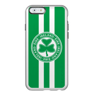 Ireland Éire Shamrock Green and White Incipio Feather Shine iPhone 6 Case