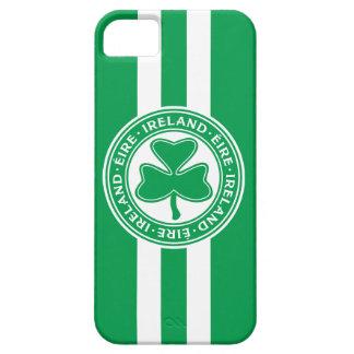 Ireland Éire Shamrock Green and White iPhone SE/5/5s Case