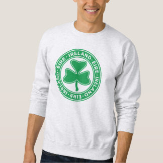Ireland Éire Shamrock Symbol Sweatshirt