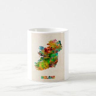Ireland Eire Watercolor Map Coffee Mug