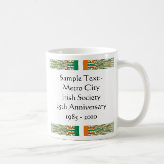 Ireland eText ~ Flagcolor Map Mug