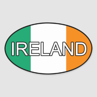 Ireland Euro Sticker