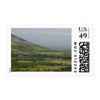 Ireland Fields Burren Farms Castles Postage Stamps