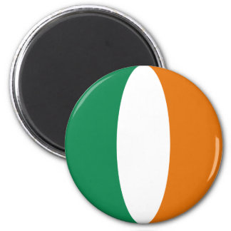 Ireland Fisheye Flag Magnet