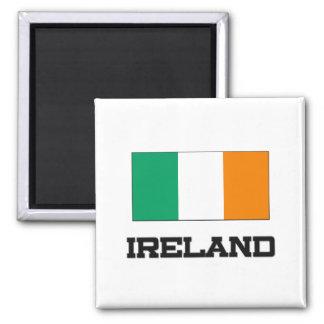 Ireland Flag 2 Inch Square Magnet