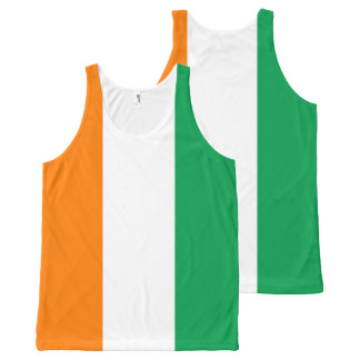 Ireland Flag All-Over-Print Tank Top