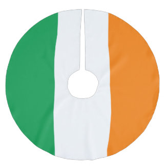 Ireland Flag Brushed Polyester Tree Skirt