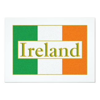 Ireland Flag Card