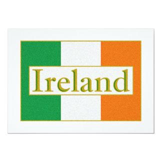 Ireland Flag Card