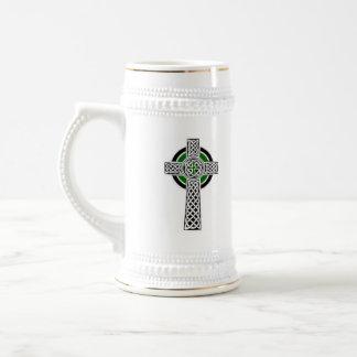 Ireland flag/ celtic cross stein