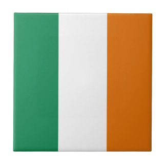 Ireland Flag Ceramic Tile