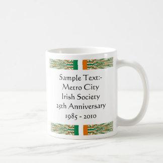 Ireland Flag-color Map Customizable Mug