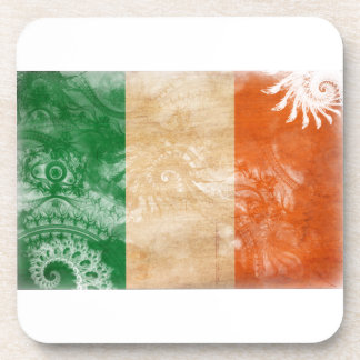 Ireland Flag Beverage Coaster