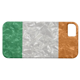 Ireland Flag - Crinkled iPhone 5 Cases