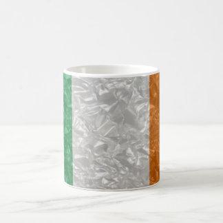 Ireland Flag - Crinkled Classic White Coffee Mug