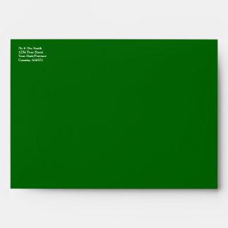 Ireland Flag - Crinkled Envelope