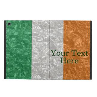 Ireland Flag - Crinkled iPad Air Cover