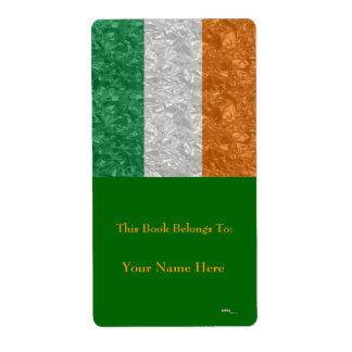Ireland Flag - Crinkled Label