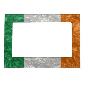 Ireland Flag - Crinkled Magnetic Photo Frame