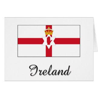 Ireland Flag Design Greeting Cards