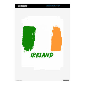 Ireland flag design decal for the iPad 2